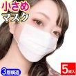 画像1: 小さめマスク 不織布3層 PM2.5対応 PFE99%以上【個別包装】白〔5枚入〕【送料無料】 (1)