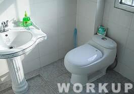 トイレも常に清潔を心がけています。